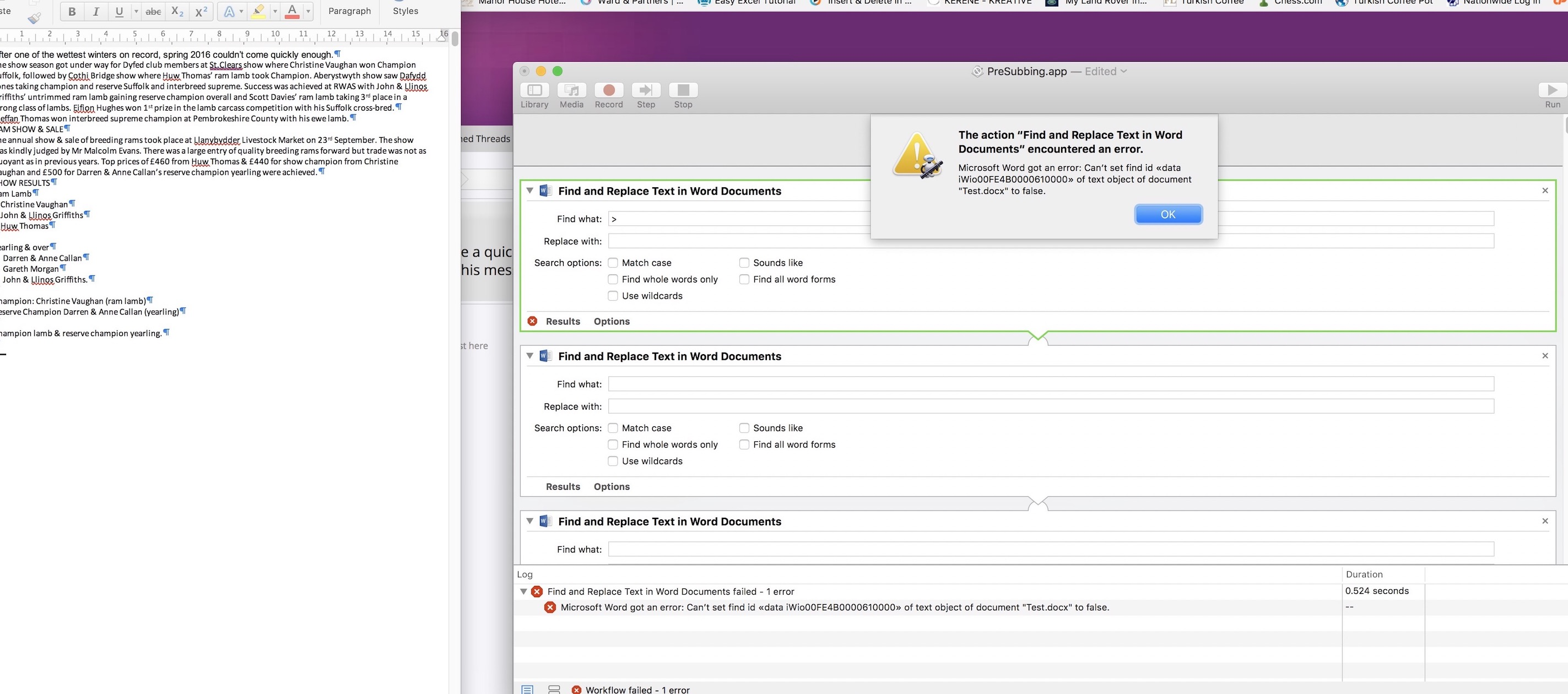 Automator app not working in Sierra | Mac Help Forums