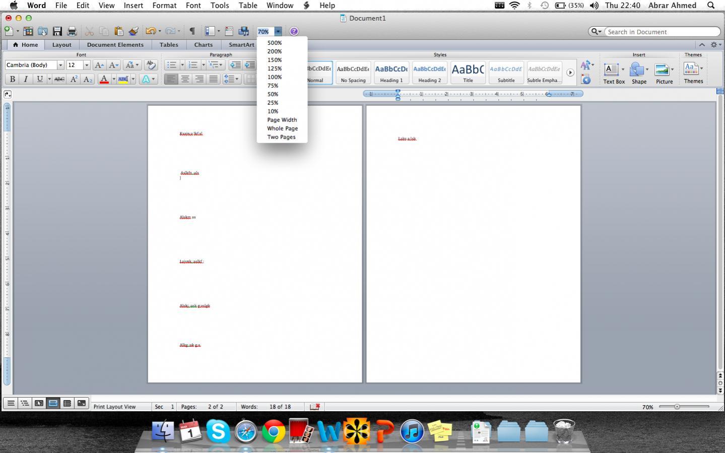 microsoft word for essays